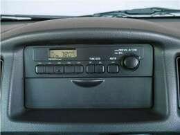 【ラジオチューナー】ラジオチューナーとなります。ナビゲーション等をご希望の場合は、スタッフへご相談ください。