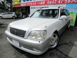 トヨタ クラウンエステート 2.5 アスリートV ターボ TEIN車高調 OZ18inchAW HID ETC