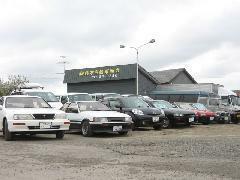 オーナーの趣味がこうじて旧車も何台か展示しています!興味のある方お待ちしております!