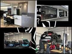 自社整備工場にてプジョー車を知り尽くしたメカニックが、メンテナンスから車検・修理等の作業まで迅速に対応いたします。