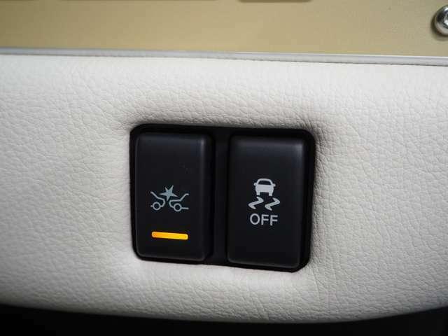 ベース車両のマイナーチェンジによってビュートにも衝突軽減ブレーキやLDWと言った安全装備が装備されました。