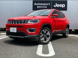ジープ コンパス リミテッド 4WD 認定中古車保証付 整備付 ナビ ETC
