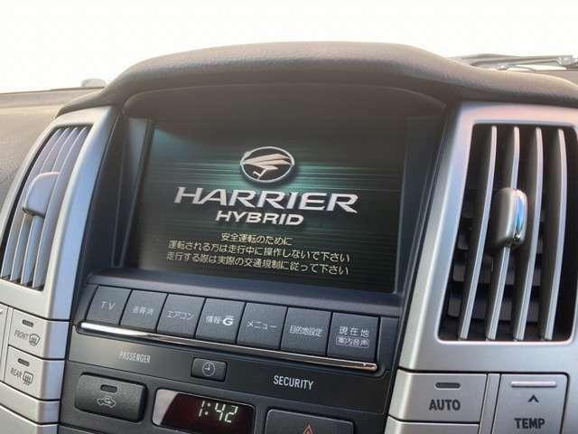 【純正ナビ】高性能&多機能ナビでドライブも快適ですよ☆