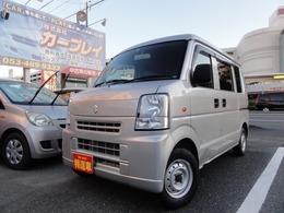 スズキ エブリイ 660 PA ハイルーフ 黒革調シートカバー/特注作業台
