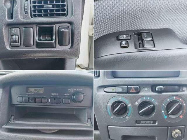 ラジオ付・パワーウィンドウ