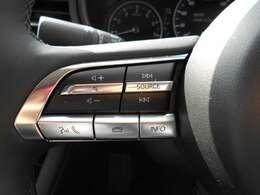 ハンドルに付いているボタンで音量調整や選曲変更などが簡単にできます。