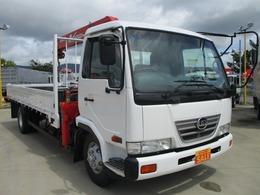 UDトラックス コンドル 5段クレーン 積載2.9t フル装備