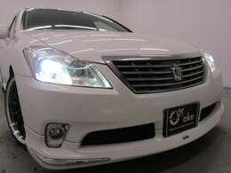 サンルーフ・モデリスタフルエアロ・CUSUCO車高調・新品19インチAW・新品タイヤ・インテリジェントAFS&HIDヘッドライト付でエクステリアもドレスアップ済!キマってます!!