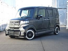 ホンダ N-BOX 660 カスタムG ターボSSパッケージ ブラックスタイル ローダウン アルミ新品 タイヤ新品 ナビ