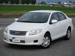 トヨタ カローラアクシオ 1.5 X /バックモニター付きで車庫入サポート