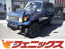 トヨタ ランドクルーザー70 4.2 LX ディーゼル 4WD レカロ外バンパーガードチッピング塗装