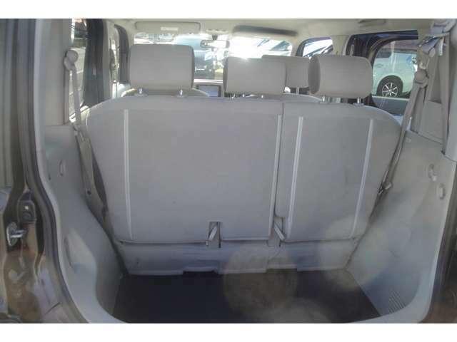 トランクもセパレートで使いやすいです。