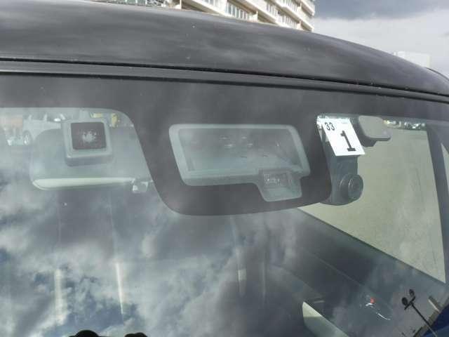 レーダーブレーキで安全装備もついています!
