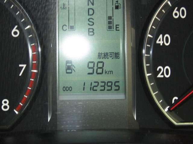 走行距離はおよそ113,000 kmです☆★