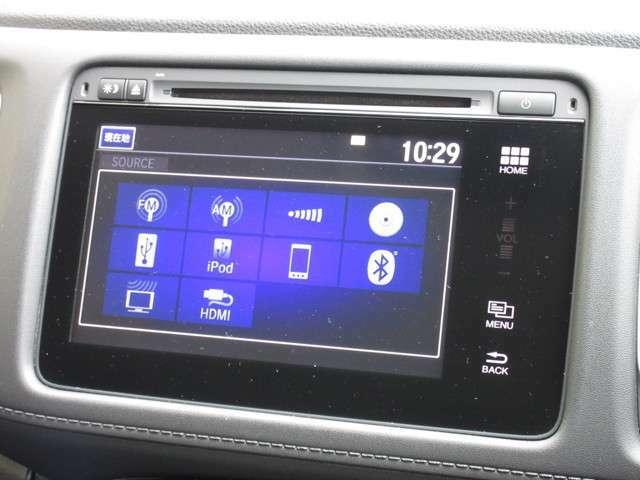 ナビゲーションはホンダ純正メモリーナビが装着されております。AM、FM、CD、DVD再生、フルセグTV、Bluetoothにインターナビがご利用いただけます。初めて訪れた場所でも道に迷わず安心ですね!