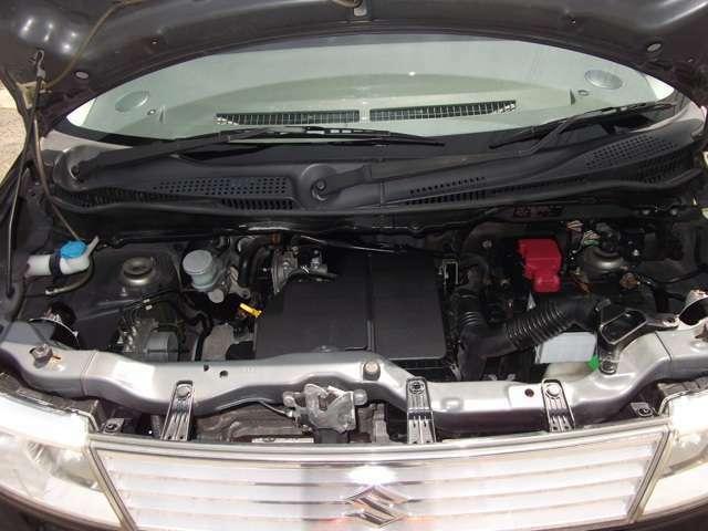 タイミングチェーンエンジンです。
