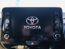 【 ディスプレイオーディオ 】一部のトヨタに新設定されたディスプレイオーディオ搭載車!お手持ちのスマートフォンと連動してアプリや音楽を画面上で楽しむことができます。ナビやテレビはオプションになります。