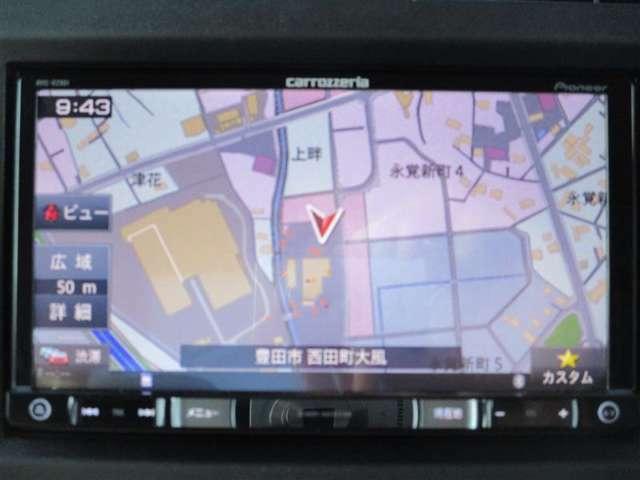 パイオニア製ナビcarrozzeria AVIC-RZ901 Bluetooth対応
