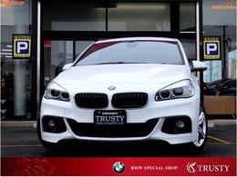 BMW 2シリーズグランツアラー 218i Mスポーツ 1オーナー 自動追従 Dアシスト 後席TV