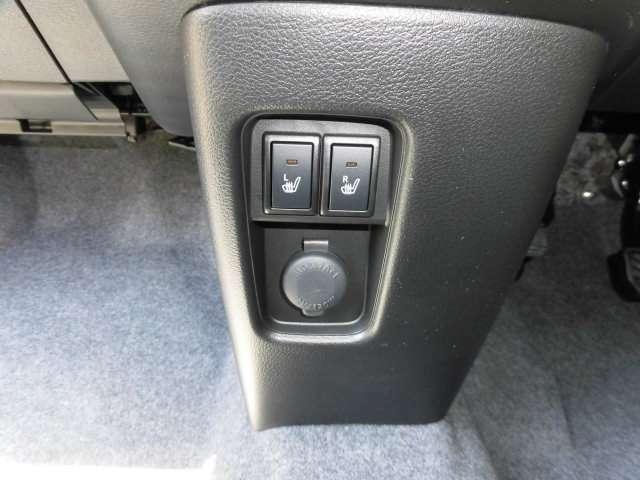 運転席&助手席にシートヒーターが採用されています^^寒い時期でも快適に過ごせます♪