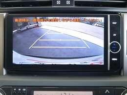 バックモニター付きですよ☆後ろが見難くても、駐車時の後方確認も出来ますので安心です♪