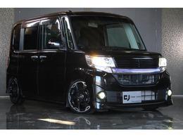 ダイハツ タント 660 カスタム X トップエディションSA 4WD 車高調/16AW/社外ナビ/両側電動/本州仕入