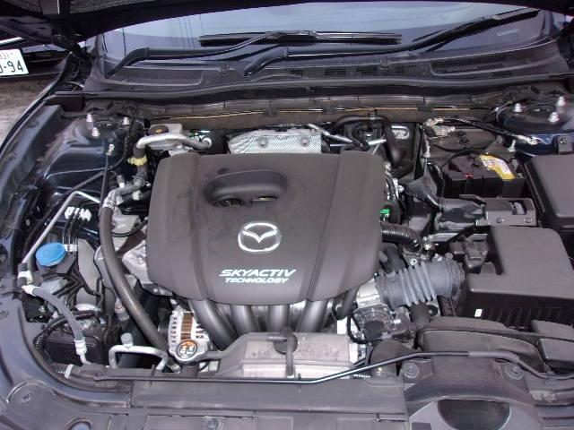 ガソリンエンジンです