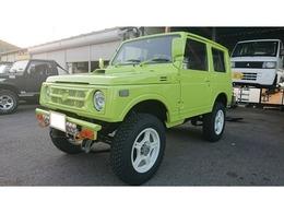 スズキ ジムニー 660 ワイルドウインド リミテッド 4WD キネティックイエローカスタム