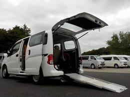 日産 NV200バネットバン 1.6 チェアキャブ 車いす1名仕様 専用サードシート無 リアクーラー 電動ステップ 手すり