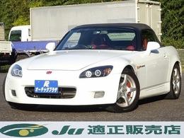 ホンダ S2000 2.0 6速MT 赤革シート 純正アルミ