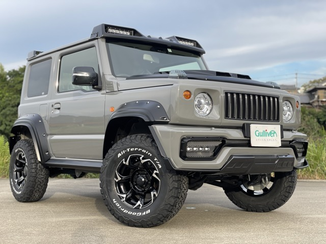WALD BLACK BISONフルコンプリートのシエラが遂に完成致しました!BLACKBISONボディキット、オーバーフェンダー専用サイズのVORSALINO SUV 1PC CASTED / V11-C SUVホイールと、BFGoodrich KO2 235/75/15!