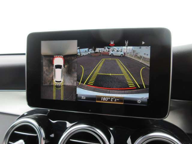 ◆全周囲カメラ装備◆バック運転が苦手な方には360度画面表示で最適な装備です◆