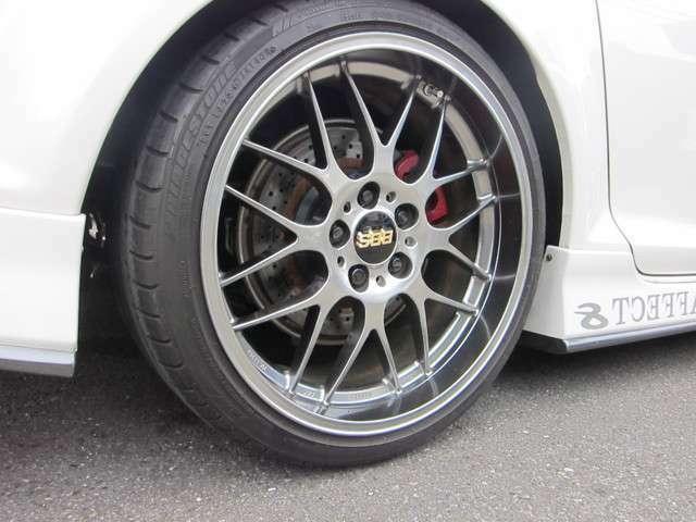 前後BBS RS-GT 19インチ!