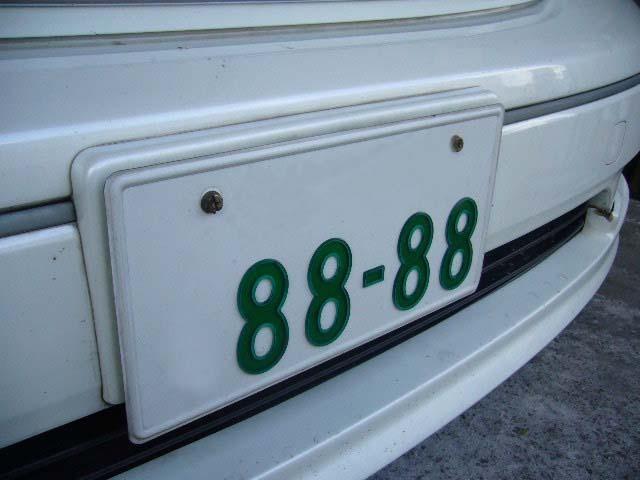 Aプラン画像:お気に入りの数字をナンバープレートに!愛着がますます湧きますね!