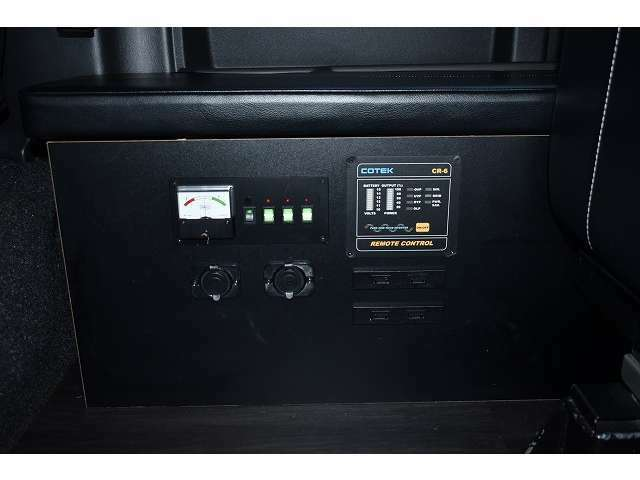 1500Wインバーター搭載ですので、家電製品もご使用頂けます♪