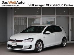 フォルクスワーゲン ゴルフ GTI ワンオーナー 禁煙車 記録簿