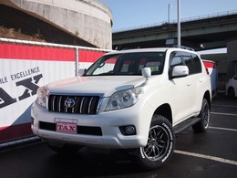 トヨタ ランドクルーザープラド 2.7 TX 4WD 新品ホワイトレタータイヤ禁煙車7人乗り
