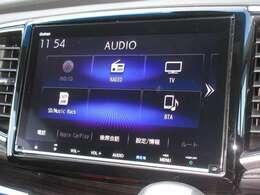 ギャザズ8インチメモリーナビ(VXM-197VFNi)を装着しております。AM、FM、CD、DVD再生、Bluetooth、音楽録音再生、フルセグTVがご使用いただけます。初めて訪れた場所でも道に迷わず安心ですね!