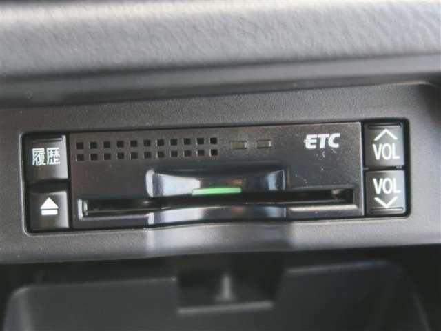 ETCを装備しているので高速でもスイスイ進めちゃいます。 ETCを利用して、高速道路を楽々ドライブできちゃいます。 渋滞緩和でエコ!?にもなっちゃいます。