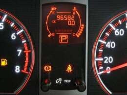 走行距離はおよそ97,000kmです。
