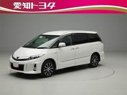 トヨタ エスティマハイブリッド 2.4 アエラス レザーパッケージ 4WD