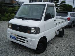 日産 クリッパートラック 660 SDエアコン付 5MT/CD/エアコン/パワステ/エアバック