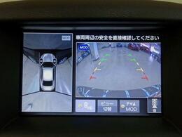 ■ 装備4 ■ アラウンドビューモニター リアクロストラフィックアラート 障害物センサー 移動物検知