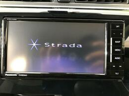 ☆Stradaナビ・フルセグTV付☆その他にフリップダウンモニターやドライブレコーダー、音響のカスタムパーツも販売中☆お気軽にスタッフまで♪