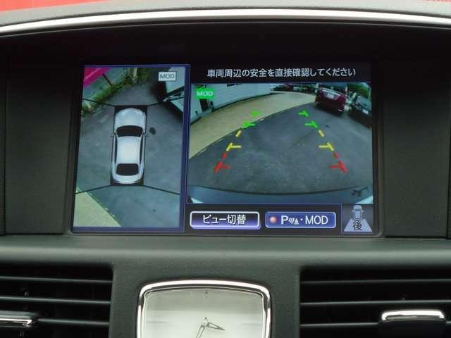 アラウンドビューモニター付きで駐車の苦手な方でも安心です!