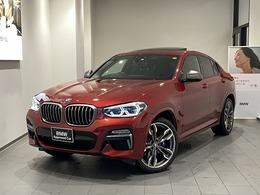 BMW X4 M40i 4WD サンルーフ禁煙1オーナー黒レザー前車追従
