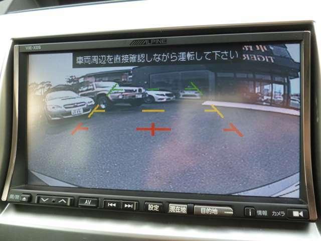 バックカメラ付きで狭い場所でも安全に駐車できます☆運転に自信がない方でも簡単に駐車できますよ♪