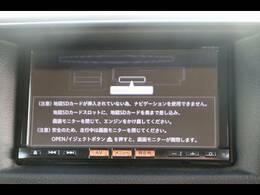 純正SDナビを装備。フルセグTV、ブルートゥース接続、DVD再生可能、音楽の録音も可能です。