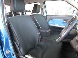 ゆったりとしたシートはどなたでもベストなポジションで運転が可能になります!