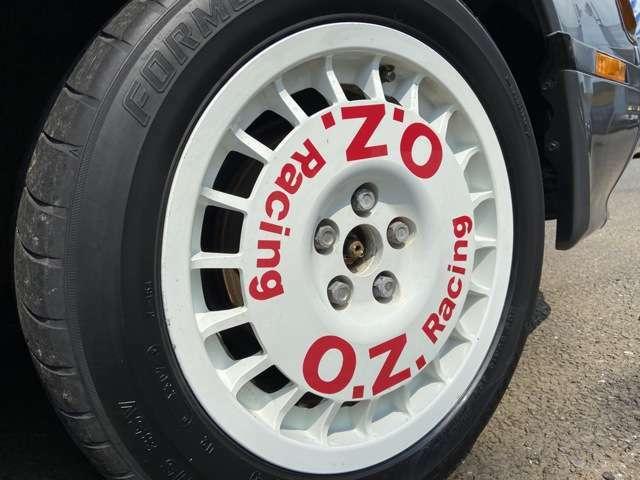 OZレーシング15インチアルミ!!タイヤ交換も出来ますので、お気軽にご相談下さい!!